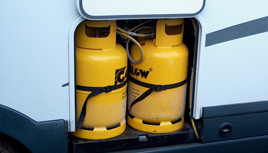Gaslow Refillable Gas Systems from Northants Motorhome Services your motorhome specialist
